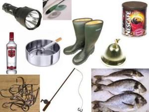 Конкурсы для женщин : рыбачка.