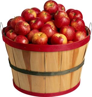 Веселые задачки про яблоки