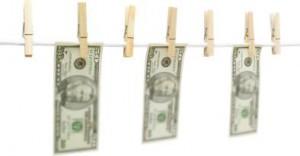 как оригинально подарить деньги на веревочке