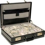 как оригинально подарить деньги в чемодане