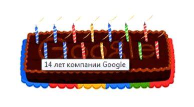 День рождения Гугл (Google)