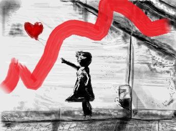 день самоуправления в школе - детское граффити