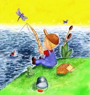 рыбак - сочинение Как я провел лето