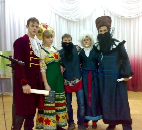 сценки для КВН - бояре и царь Петр