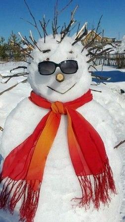 снеговик - новогодние конкурсы для корпоратива
