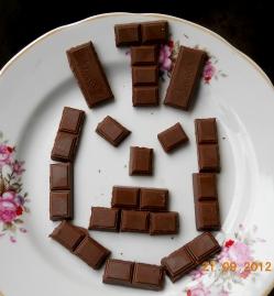Конкурс на День рождения - «Портрет именинника» из шоколада