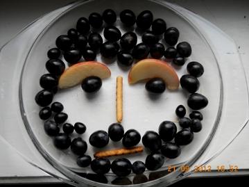 Конкурсы для девушек и женщин «Портрет мужа художницы» - портрет из фруктов