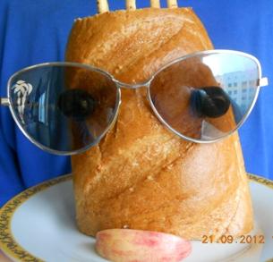 Конкурсы для девушек и женщин «Портрет мужа художницы» - портрет из хлеба