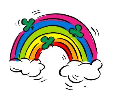 Прогноз погоды на юбилей и День рожденья - радуга