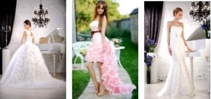 свадебные платья Росалли