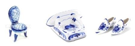 сувениры и посуда гжель