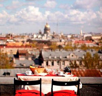 Праздник на крыше - как устроить праздник нестандартно