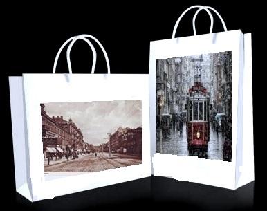 что подарить гостям - сумки с фото