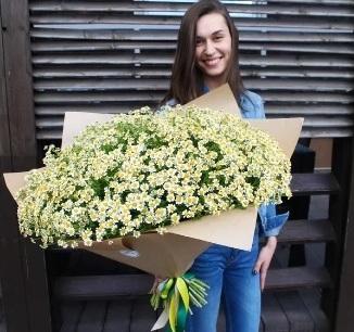 Где купить цветы? Очень большой букет