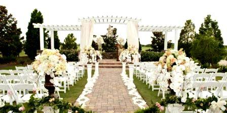 коттедж на свадьбу - загородная церемония